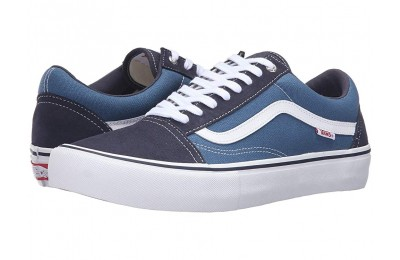 [ Hot Deals ] Vans Old Skool Pro Navy/Stv Navy/White