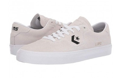 [ Hot Deals ] Converse Skate Louie Lopez Pro - Ox White/White/Black