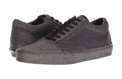 Vans Old Skool™ (Rainbow Glitter) Black/Black Black Friday Sale