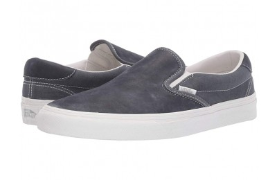 Vans Slip-On 59 (Washed Nubuck/Canvas) Ebony/Blanc Black Friday Sale