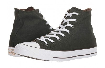 Christmas Deals 2019 - Converse Chuck Taylor® All Star® Seasonal Color Hi Utility Green/Teak/White
