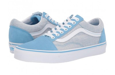 [ Hot Deals ] Vans Old Skool™ (Chambray) Alaskan Blue/True White