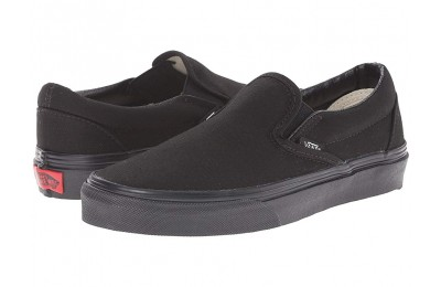 Vans Classic Slip-On™ Core Classics Black/Black (Canvas) Black Friday Sale
