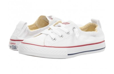 Christmas Deals 2019 - Converse Kids Chuck Taylor® All Star® Shoreline Slip (Little Kid/Big Kid) Optical White