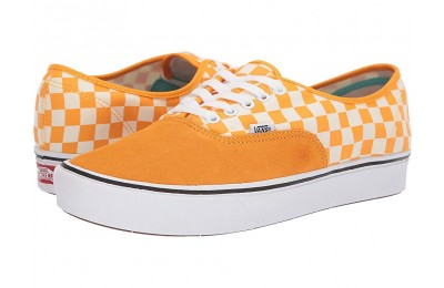 [ Hot Deals ] Vans ComfyCush Authentic (Checker) Zinnia/True White