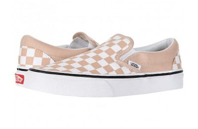 [ Hot Deals ] Vans Classic Slip-On™ (Checkerboard) Frappe/True White