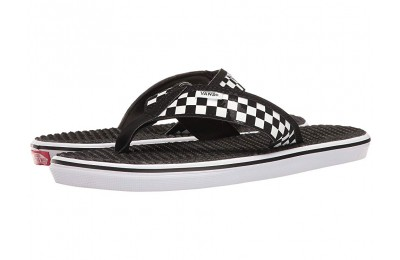 Vans La Costa Lite (Checkerboard) Black/White Black Friday Sale