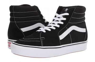 Christmas Deals 2019 - Vans ComfyCush SK8-Hi (Classic) Black/True White