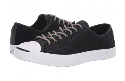 [ Hot Deals ] Converse Jack Purcell Jack - Ox Black/Blue Hero/Teak