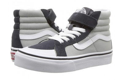 Vans Kids SK8-Hi Reissue 138 V (Little Kid/Big Kid) (Suede) Belgian Block/Ebony