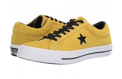 [ Hot Deals ] Converse One Star - Dark Star Bold Citron