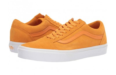 [ Hot Deals ] Vans Old Skool™ (Soft Suede) Zinnia/True White