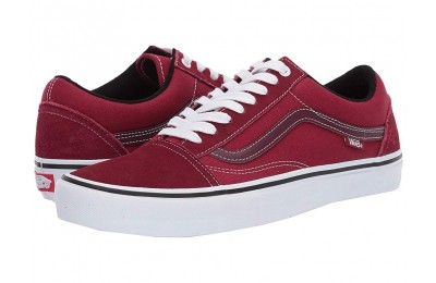 [ Hot Deals ] Vans Old Skool Pro Rumba Red/True White