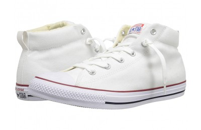 Black Friday Converse Chuck Taylor® All Star® Street Core Canvas Mid White/Natural/White Sale