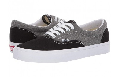 [ Hot Deals ] Vans Era™ (Chambray) Canvas Black/True White