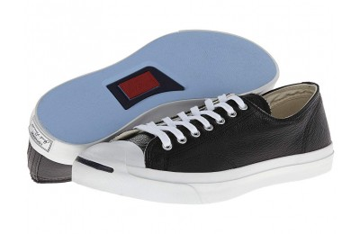[ Hot Deals ] Converse Jack Purcell® Leather Black/White