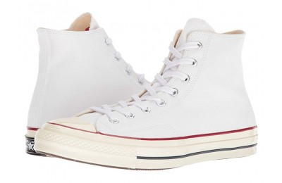 [ Hot Deals ] Converse Chuck Taylor® All Star® '70 Hi White/Garnet/Egret