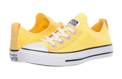 Black Friday Converse Chuck Taylor All Star Shoreline Knit Butter Yellow/White/Black Sale