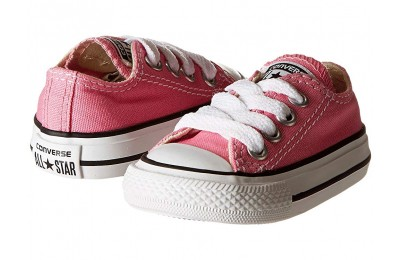 [ Hot Deals ] Converse Kids Chuck Taylor® All Star® Core Ox (Infant/Toddler) Pink