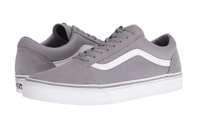 Vans Old Skool™ (Suede/Canvas) Frost Gray/True White Black Friday Sale