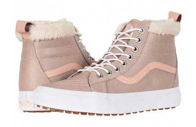 [ Hot Deals ] Vans SK8-Hi MTE (MTE) Metallic/Soft Pink