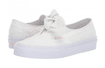 [ Hot Deals ] Vans Authentic Knotted (Cotton Lace) True White/True White