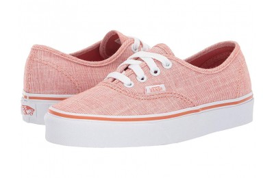 Vans Authentic™ (Chambray) Carnelian/True White