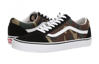 Vans Old Skool™ (Woodland Camo) Black/Woodland Black Friday Sale