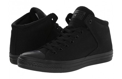 [ Hot Deals ] Converse Chuck Taylor® All Star® High Street Mono Canvas Hi Black/Black/Black