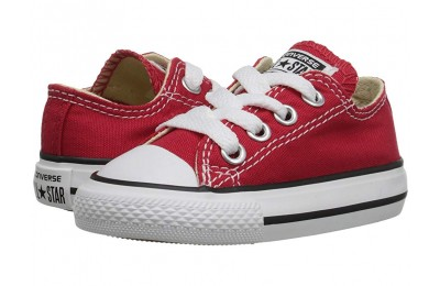 [ Hot Deals ] Converse Kids Chuck Taylor® All Star® Core Ox (Infant/Toddler) Red