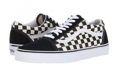 [ Black Friday 2019 ] Vans Old Skool™ (Primary Check) Black/White