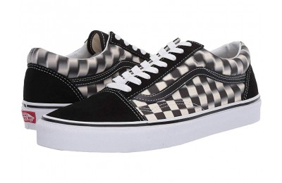 Vans Old Skool™ (Blur Check) Black/Classic White Black Friday Sale
