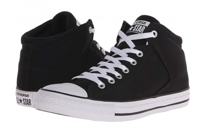 Christmas Deals 2019 - Converse Chuck Taylor® All Star® High Street Mono Canvas Hi Black/Black/White