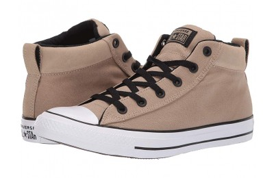 [ Hot Deals ] Converse Chuck Taylor® All Star® Street Uniform Mid Khaki/Black/White