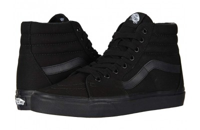 [ Black Friday 2019 ] Vans SK8-Hi™ Core Classics Black/Black/Black