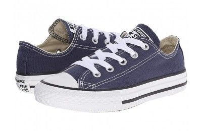 [ Black Friday 2019 ] Converse Kids Chuck Taylor® All Star® Core Ox (Little Kid) Navy