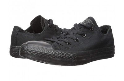Christmas Deals 2019 - Converse Kids Chuck Taylor® All Star® Core Ox (Infant/Toddler) Monochrome Black