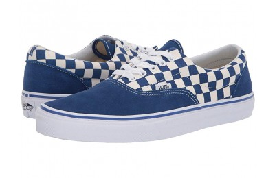 Vans Era™ (Primary Check) True Blue/White Black Friday Sale