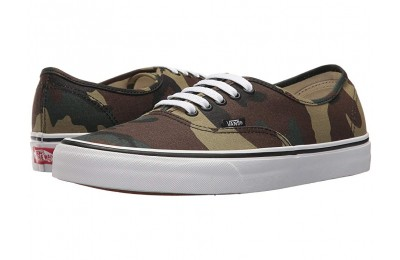 [ Hot Deals ] Vans Authentic™ (Woodland Camo) Black/Woodland