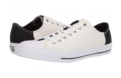 Black Friday Converse Chuck Taylor® All Star® Color Block Patch Ox Egret/Black/White Sale