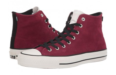 [ Hot Deals ] Converse Skate Chuck Taylor All Star Pro - Hi Pomegranate Red/Black/Egret