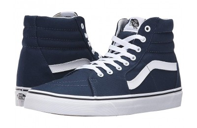Buy Vans SK8-Hi™ (Canvas) Dress Blues/True White