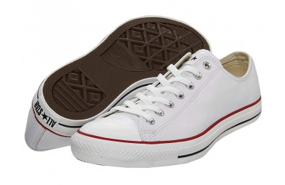 Hot Sale Converse Chuck Taylor® All Star® Leather Ox White/Leather