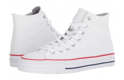 Christmas Deals 2019 - Converse Skate CTAS Pro Hi Skate White/Red/Insignia Blue