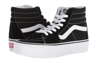 Buy Vans SK8-Hi Platform 2.0 Black/True White