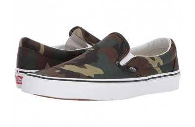 Christmas Deals 2019 - Vans Classic Slip-On™ (Woodland Camo) Black/Woodland