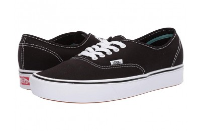 Vans ComfyCush Authentic (Classic) Black/True White Black Friday Sale