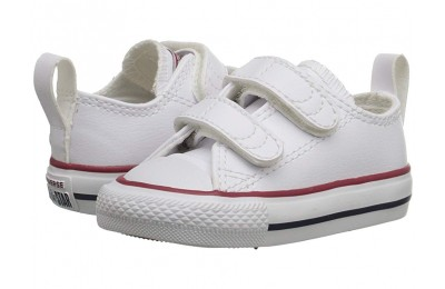 Christmas Deals 2019 - Converse Kids Ctas 2V (Infant/Toddler) White