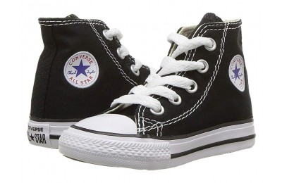 Christmas Deals 2019 - Converse Kids Chuck Taylor® All Star® Core Hi (Infant/Toddler) Black