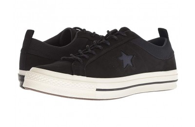 Christmas Deals 2019 - Converse One Star - Ox Black/Almost Black/Black